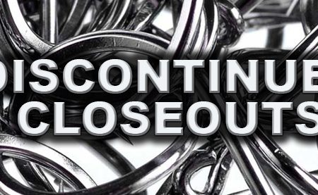 DISCONTINUED CLOSEOUTS