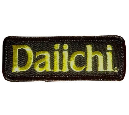 DAIICHI IRON ON PATCH