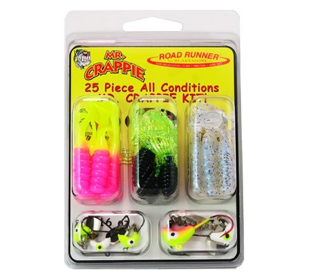 Mr. Crappie All Conditions Kit: 50-MRC-LH Slabalicious, Road Runner