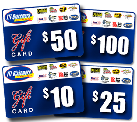2 NEW Gift Cards